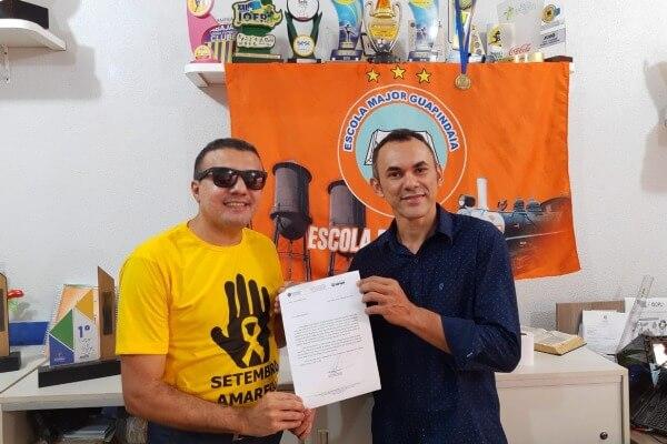 Alex Silva garante apoio à Escola Major Guapindaia em Porto Velho