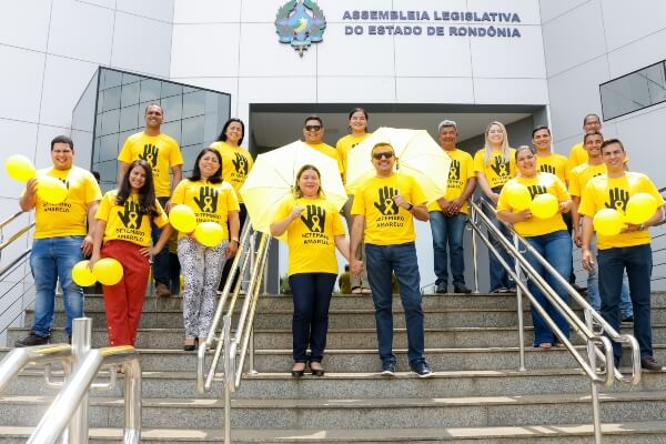 """Deputado adere à campanha """"Setembro Amarelo"""" em RO"""