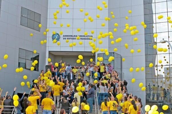 """""""Setembro Amarelo"""" ganha adeptos em Porto Velho (RO)"""