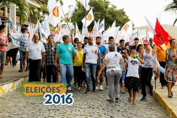 """""""Propomos uma administração transparente"""", diz Alexandre Martins em Armação dos Búzios"""