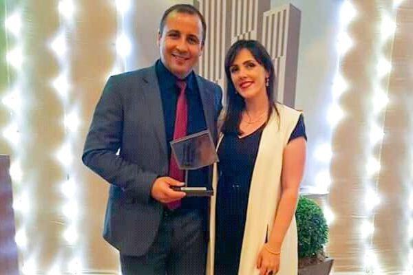 """Alexandre Vargas recebe prêmio """"Destaque Institucional"""" em Santa Maria (RS)"""