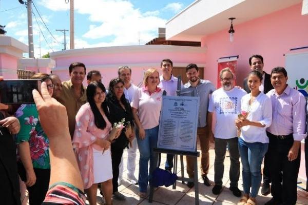 Alexandre Zóio participa da inauguração de espaço dedicado às mulheres em Ourinhos