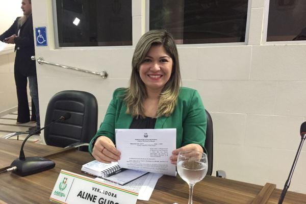"""Aline Gurgel defende aprovação da Lei """"Menino Carlos Daniel"""""""