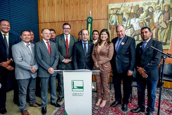 Aline Gurgel preside Frente Parlamentar Mista em Defesa do Legislativo Municipal