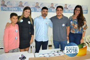Allan Ferreira lança campanha para deputado estadual em Cachoeiro de Itapemirim