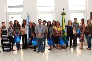 Alunos da FRB visitam Embaixada da Argentina