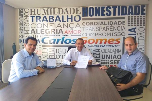 Vereador Alvoni Medina apoia Associação de Cegos do RS