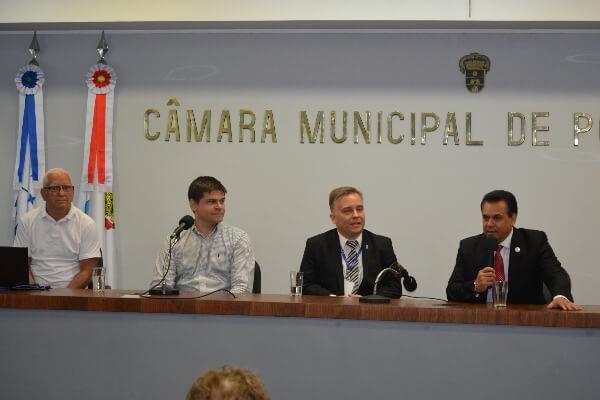Saúde do homem é tema de palestras na Câmara de Porto Alegre