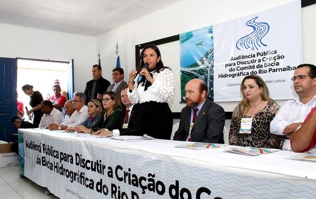 Deputada Ana do Gás preside audiência pública sobre criação do CBH do Rio Parnaíba