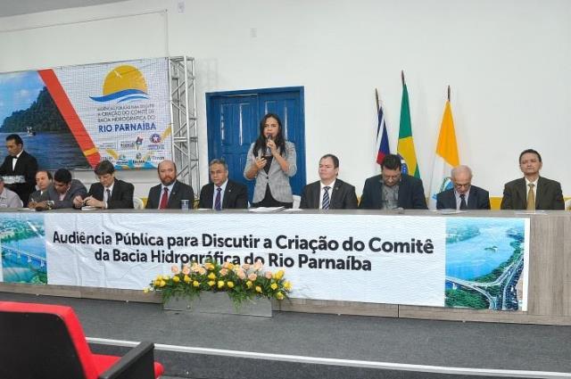 Deputada Ana do Gás encerra a última audiência para criação do Comitê de Bacia do Rio Parnaíba