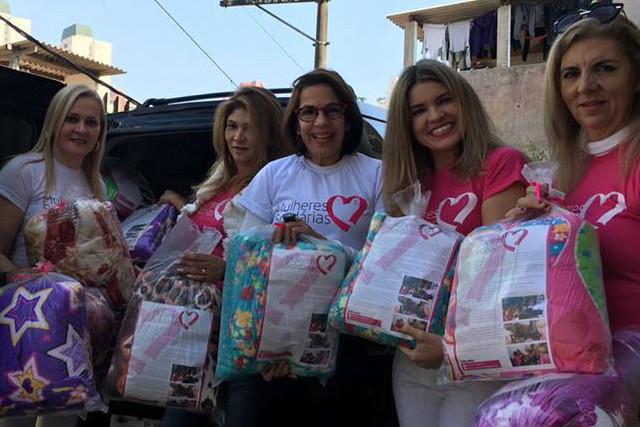 """Projeto """"Mulheres Solidárias"""" faz doação amoradores de rua de Paraisópolis (SP)"""