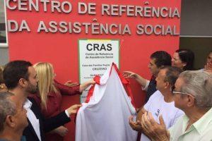 Prefeitura de Cruzeiro inaugura nova sede do CRAS