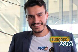 Pelo PRB, Anderson Jiraya se apresenta como candidato da mudança em Palhoça (SC)