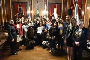 Antonio Brito homenageia mulheres republicanas em Petrópolis
