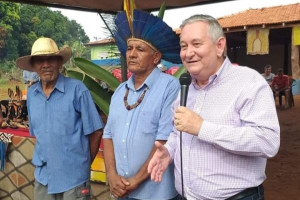 Indicação de Antonio Vaz vai beneficiar indígenas de Mato Grosso do Sul