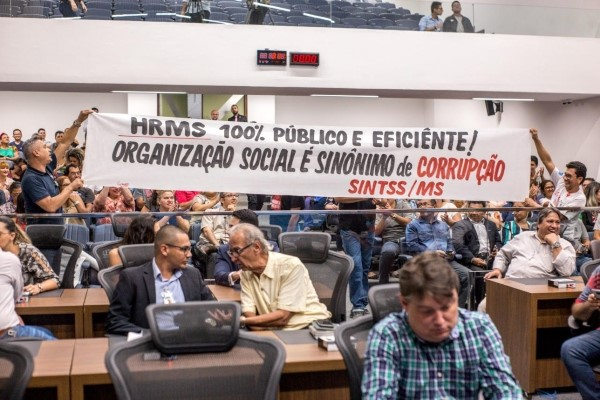 Crise no maior hospital público de MS é tema de audiência pública