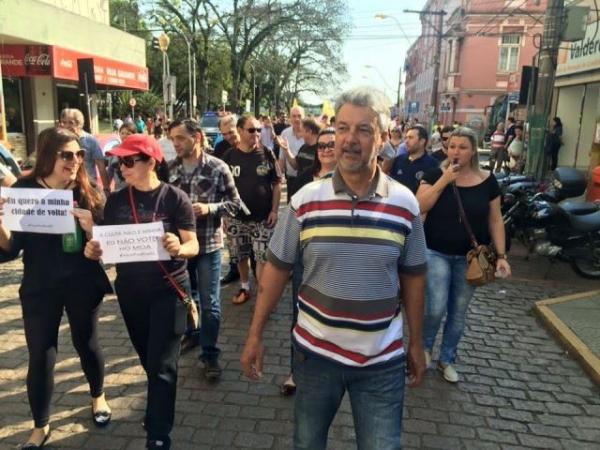 Armando Motta participa de mobilização em São Leopoldo