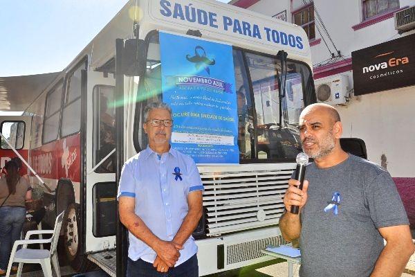 Campanha Novembro Azul garante cerca de 200 atendimentos médicos em São Leopoldo