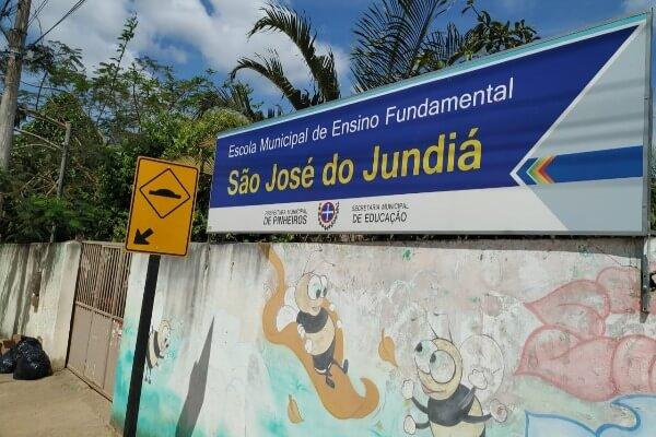 Prefeitura dá sequência à construção da quadra poliesportiva Pinheiros