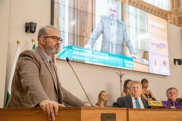 Aroldo Martins debate a inclusão da optometria no SUS