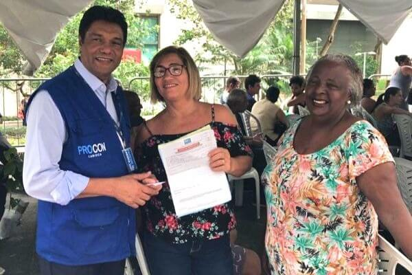 Mutirão de conciliação do Procon Carioca termina com 819 atendimentos