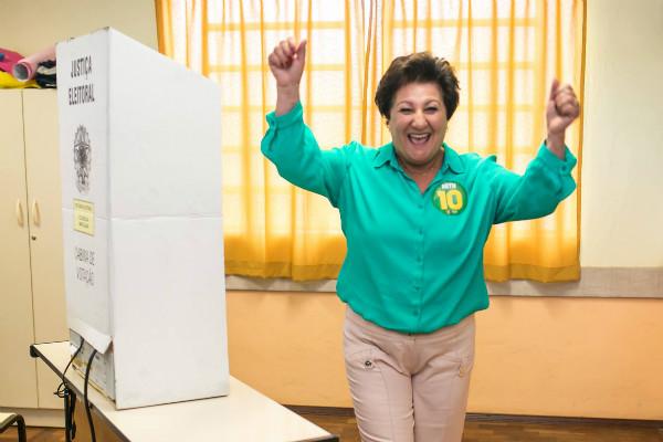 Beth Colombo disputa segundo turno em Canoas e poderá se tornar primeira prefeita