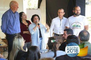 Beth Colombo lança campanha para deputada estadual em Glorinha (RS)