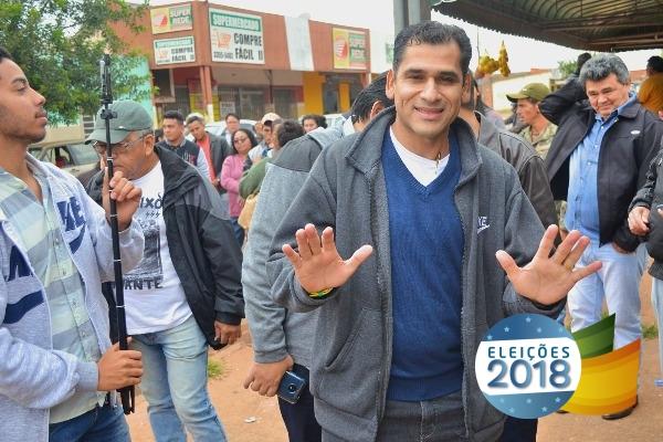 Betinho destaca a importância de apoiar a segurança pública de MS