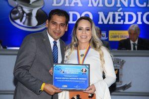 Médicos de Campo Grande são homenageados por Betinho