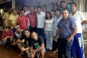 Vereador Betinho apoia trabalho com dependentes em bairro de Campo Grande (MS)