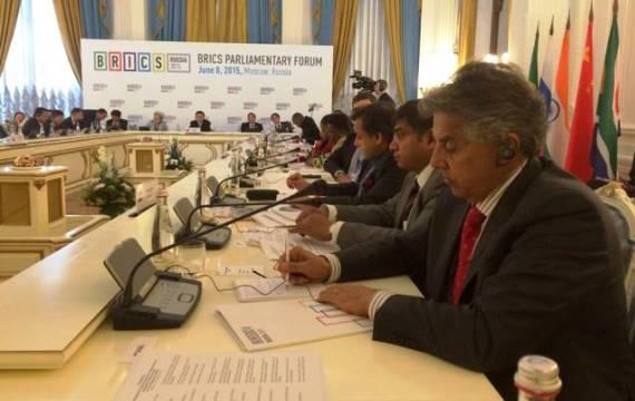 Beto Mansur participa de reunião dos BRICS na Rússia