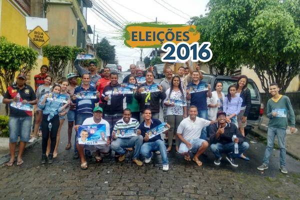 São João de Meriti (RJ): Bruninho do Cloro faz nova caminhada no bairro de Vila Rosali