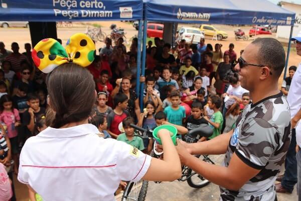 Cabo Jhony Paixão promove ação pelo Dia da Criança em Ji-Paraná