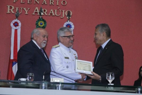 Carlos Alberto homenageia os 153 anos da Batalha Naval do Riachuelo