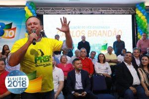 Lideranças repercutem filiação do vice-governador Carlos Brandão ao PRB