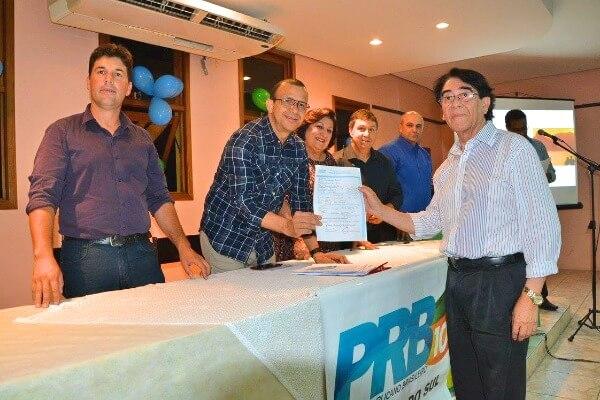 PRB Rosário do Sul (RS) recebe a filiação do ex-prefeito Dr. Alsom Pereira da Silva