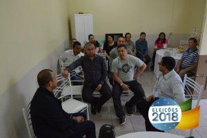 Carlos Gomes se reúne com lideranças em Alegrete (RS)