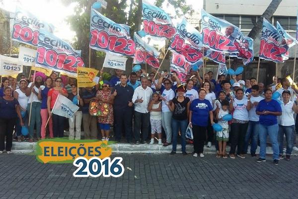 Cecílio Santos visita Feira Livre no município do Paulista (PE)