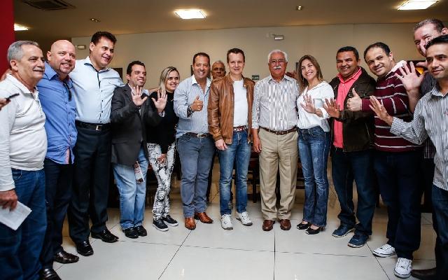 Russomanno consolida aliança com prefeito Paulo Pinheiro