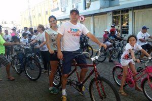 Vereador César Augusto participa do 6º Passeio Ciclístico Pedalar Bike em Canoas (RS)