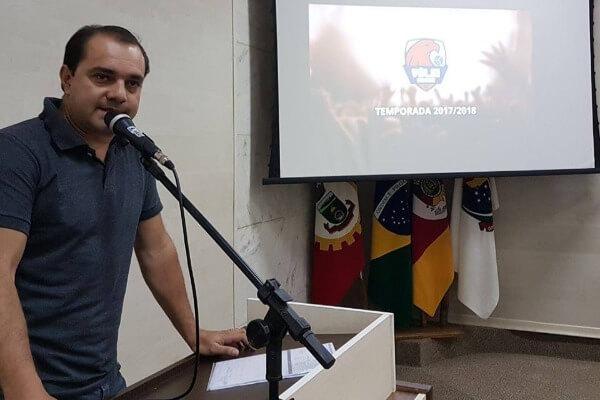 Vereador César Augusto propõe projeto em prol do voleibol de Canoas (RS)