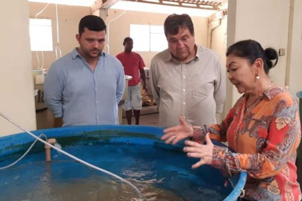 César Halum visita empresas rurais e incentiva investimentos no Tocantins