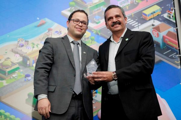 Mais um prefeito do PRB recebe o prêmio SEBRAE Empreendedor