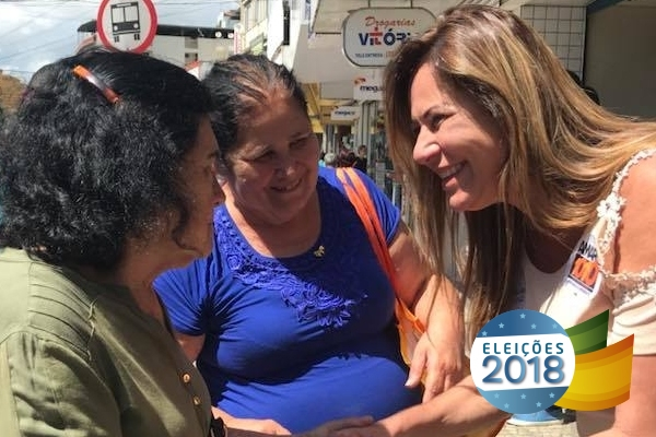 Candidata à reeleição, Cláudia Lemos quer continuar trabalho iniciado no ES
