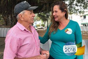 Cláudia Lemos busca reeleição para continuar defendendo os interesses dos capixabas