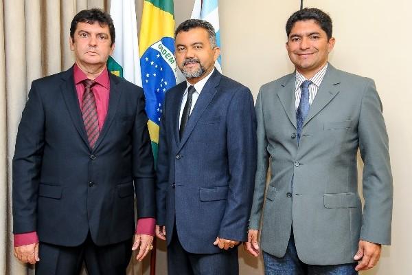 PRB Maranhão: prefeito e pré-candidato a prefeito se encontram com Cleber Verde em Brasília