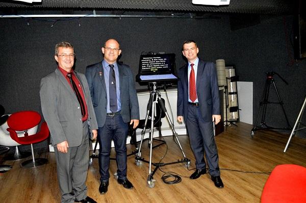 Vereador Tanrac participa de visita para conhecer funcionamento da TV Câmara Caxias do Sul