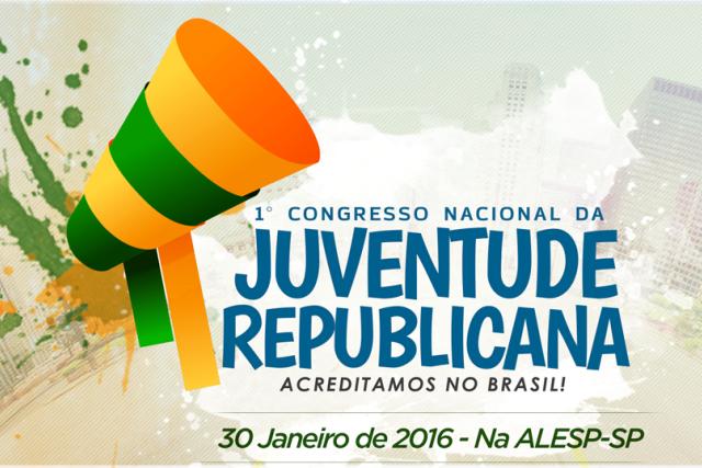 PRB realizará em São Paulo 1º Congresso Nacional da Juventude Republicana