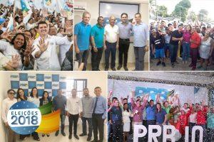 PRB realiza convenções em estados das regiões Norte e Nordeste e define candidaturas