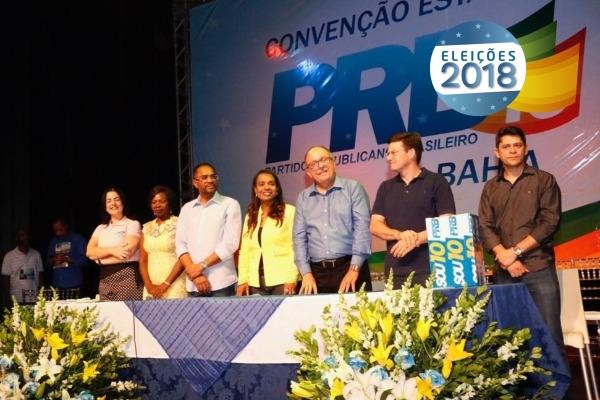 Eleições 2018: PRB realiza convenção e oficializa candidaturas na Bahia